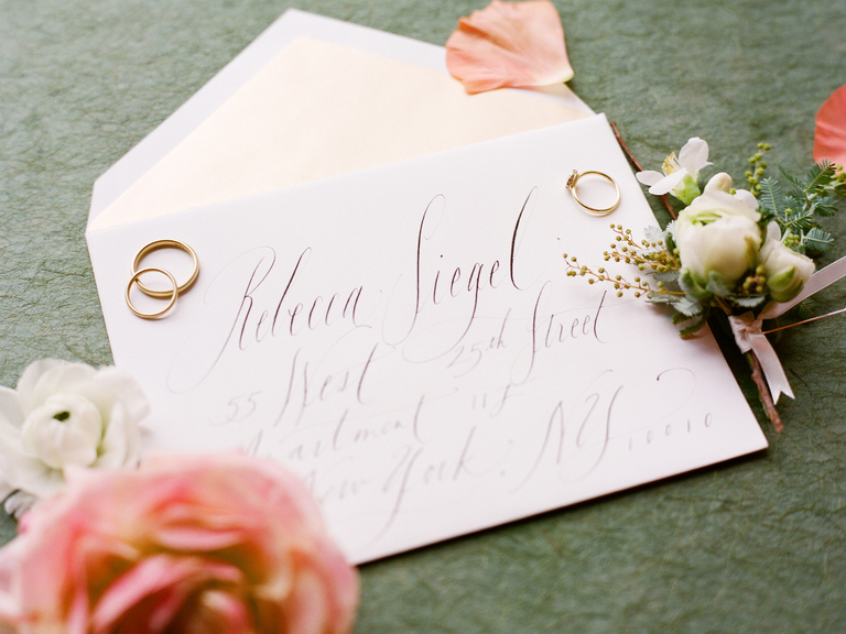 wedding invitations without inner envelope how to address wedding invitations - Wedding Invite Envelopes